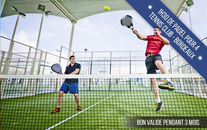Match de Padel à 4 - Bordeaux